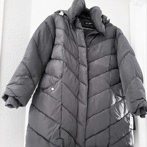 Steve Madden Women's Chevron Puffer Jacket New 3X